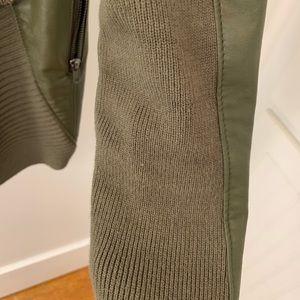 Blank NYC Jackets & Coats - Blank NYC All or Nothinb Drape Leather Jacket